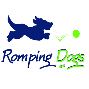 Romping Dogs Facebook Avatar